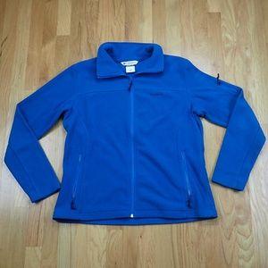 Columbia Sportswear Blue Fleece Full Zip Up